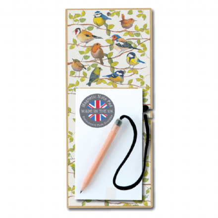 Birds Magnetic Notepad